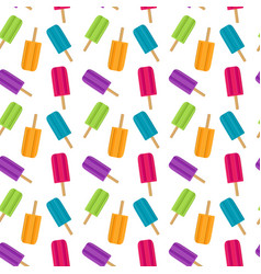 abstract summer seamless pattern background with vector image