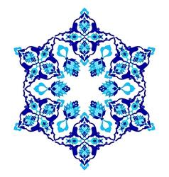 Artistic ottoman pattern series seventy two vector