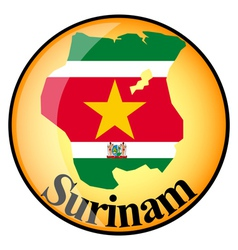 Button Surinam vector