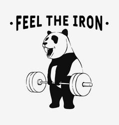 Feel iron vector