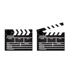 film slate vector image