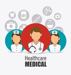 Medical healtcare design vector