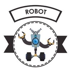 Robot icon design vector