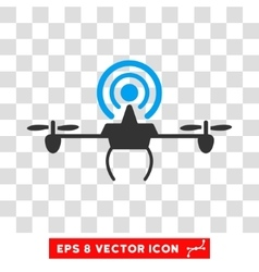 Wifi Repeater Drone Eps Icon vector