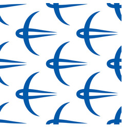swallow icon pattern vector image