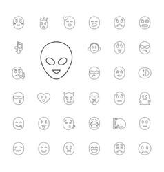 33 emoticon icons vector