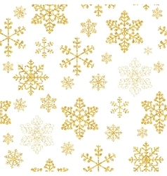 Abstract Beauty Christmas and New Year Snowflakes vector