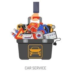 Car Service Concept vector