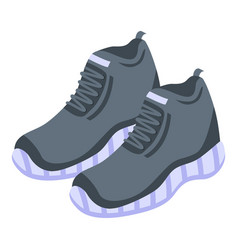 Gym sport shoes icon isometric style vector