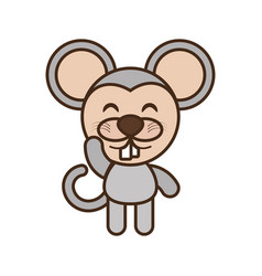 Mouse baby animal funny image vector