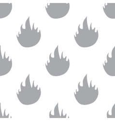 New Fire seamless pattern vector