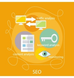 SEO Optimization Concept vector
