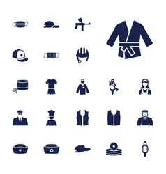 Uniform icons vector