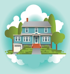 Home House vector image