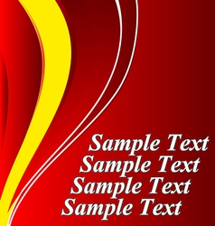 Abstract background design shape color lava lamp vector image
