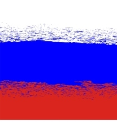 Flag of Russia Grunge Russian Background vector image vector image