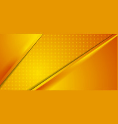 abstract orange dotted corporate material vector image vector image