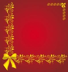 celebratory card vector image vector image