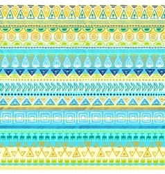 Ethnic tribal Seamless Pattern vector image