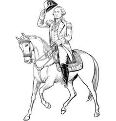 George washington vector