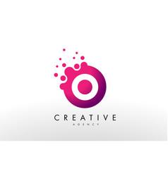 Letter o logo o letter design vector