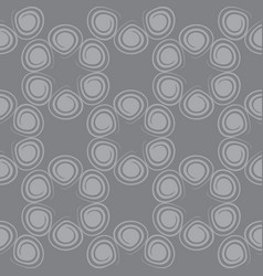 Seamless spiral pattern gray color vector