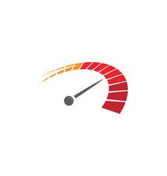 speed auto car logo template vector image