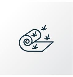 Turfing icon line symbol premium quality isolated vector