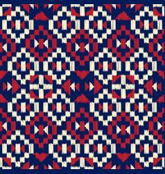 aztec seamless pattern vector image