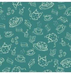 Coffee and Tea design vector image