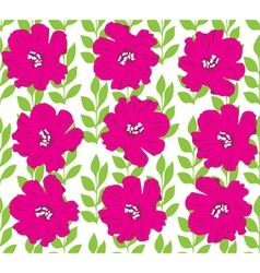 floral seamles background vector image