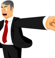 You are fired vector image