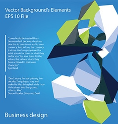 Abstract colored elements vector