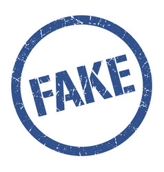 fake stamp vector image