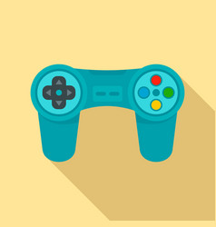 gadget game controller icon flat style vector image