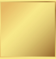 gold background in frame light realistic vector image
