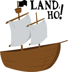 Land Ho vector