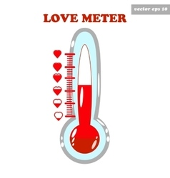 love meter vector image