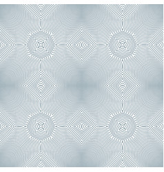 Optical art abstract seamless pattern vector