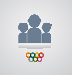 People Icon - Symbol vector