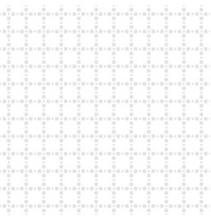 Subtle white and light gray seamless grid pattern vector