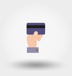 credit card payment icon vector image