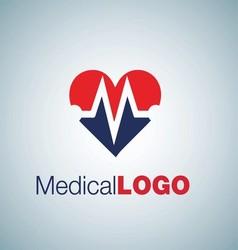 MEDICAL LOGO 9 vector image vector image
