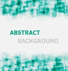 Abstract green rounded rectangle overlapping vector image