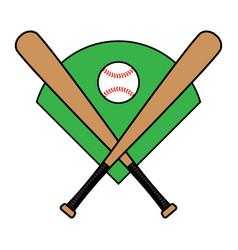 Baseball bat vector