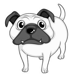 Bulldog vector image