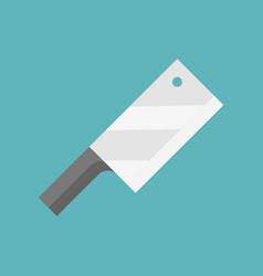 cleaver icon flat design isolated vector image