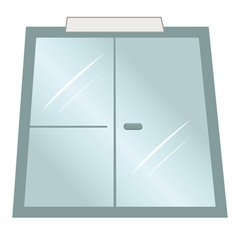doors office vector image