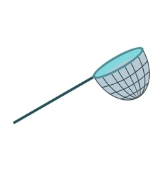 Fishing net icon vector image
