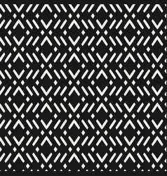 geometric seamless modern abstract black pattern vector image